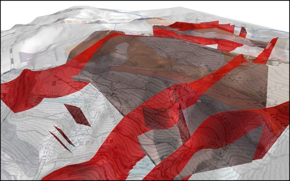 Geologisches 3D-Modell