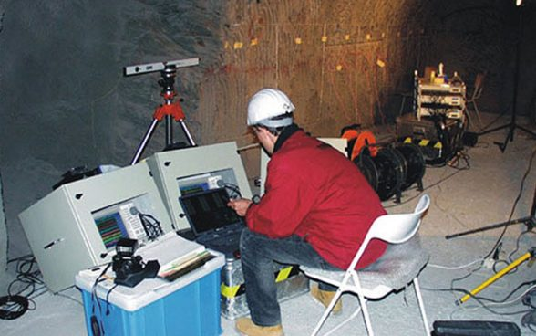 Measurements in the Mont Terri rock laboratory