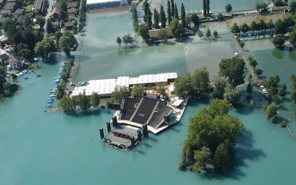 Floods in Thun, 2005